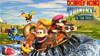 JOGANDO DONKEY KONG COUNTRY 3 (PARTE 1)