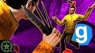Epic Knife Trick Shots in Gmod - Gmod: Murder w/Dorian Parks