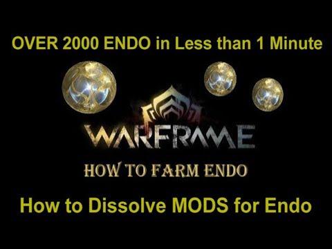 Warframe - How to farm ENDO