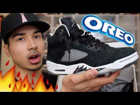 I Was Hungry So I Bought Some Oreo 5s! Unboxing Jordan Oreo 5s From eBay!