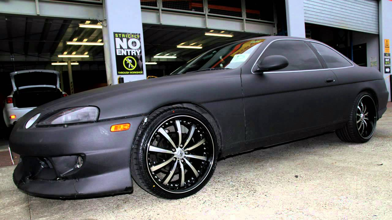 Lexus Sc400 Rolling Staggered 20 Inch Lexani Lss10 Wheels