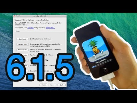 Ipod Ios 6.1.6 Ios 6.1.5 Jailbreak Semi