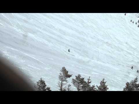 Tuckerman Ravine 4/19/15 Icefall Huck