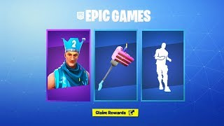 How To Claim NEW Fortnite 2nd Birthday Rewards! (Fortnite 2nd Birthday Challenges Free Rewards)
