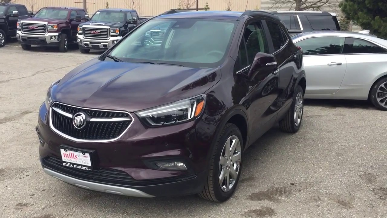 2017 Buick Encore AWD Sunroof Heated Front Seats ...