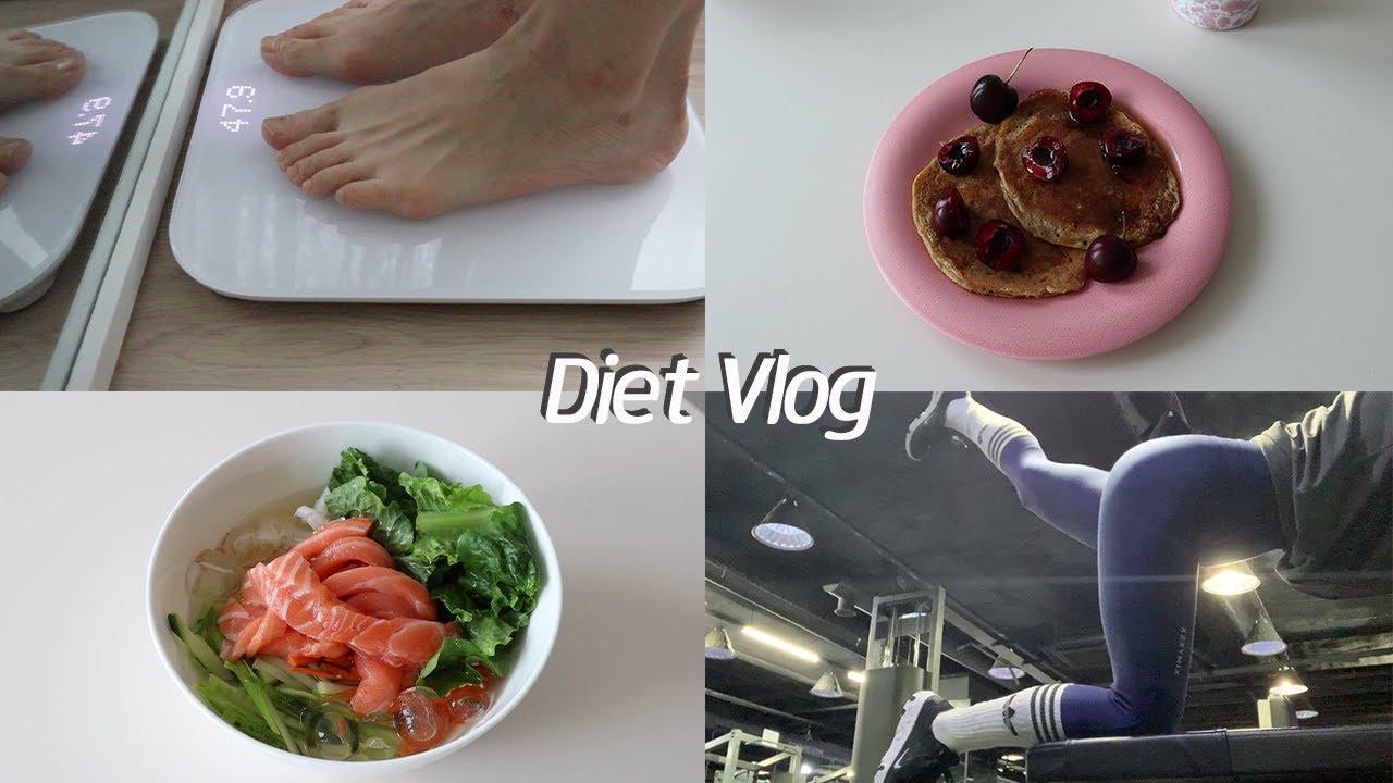 [Eng/다이어트브이로그] 다이어트 중에 일반식 먹어도 되나요? (ft.평생 안 먹을 거 아니잖아요😤) l 코스트코장보기 l 통밀 바나나 팬케이크 l 다이어트 식단