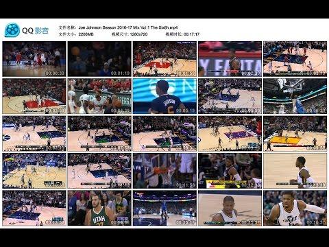 Joe Johnson NBA Season 2016-17 Video Vol 1 The Six6h [UTAH JAZZ]
