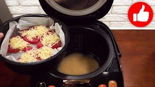 Вкуснее Вы еще не ели Как приготовить рыбу с рисом в мультиварке одновременно на обед или ужин