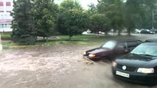 Курск,дождь 20.06.2015