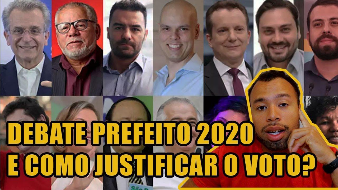 DEBATE PREFEITO 2020 E COMO JUSTIFICAR O VOTO?