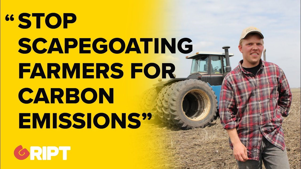 """""""Stop scapegoating famers for carbon emissions while big tech gets a free pass"""" : Farmers"""