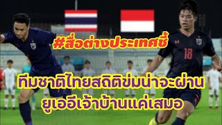 สื่อต่างประเทศเชื่อทีมชาติไทยจะชนะทีมอินโดนิเซียและทีมยูเออีจะเสมอมาเลเซียฟุตบอลโลกรอบคัดเลือก2022