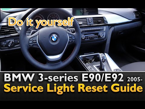 bmw 3 series service light reset bmw e90 youtube. Black Bedroom Furniture Sets. Home Design Ideas