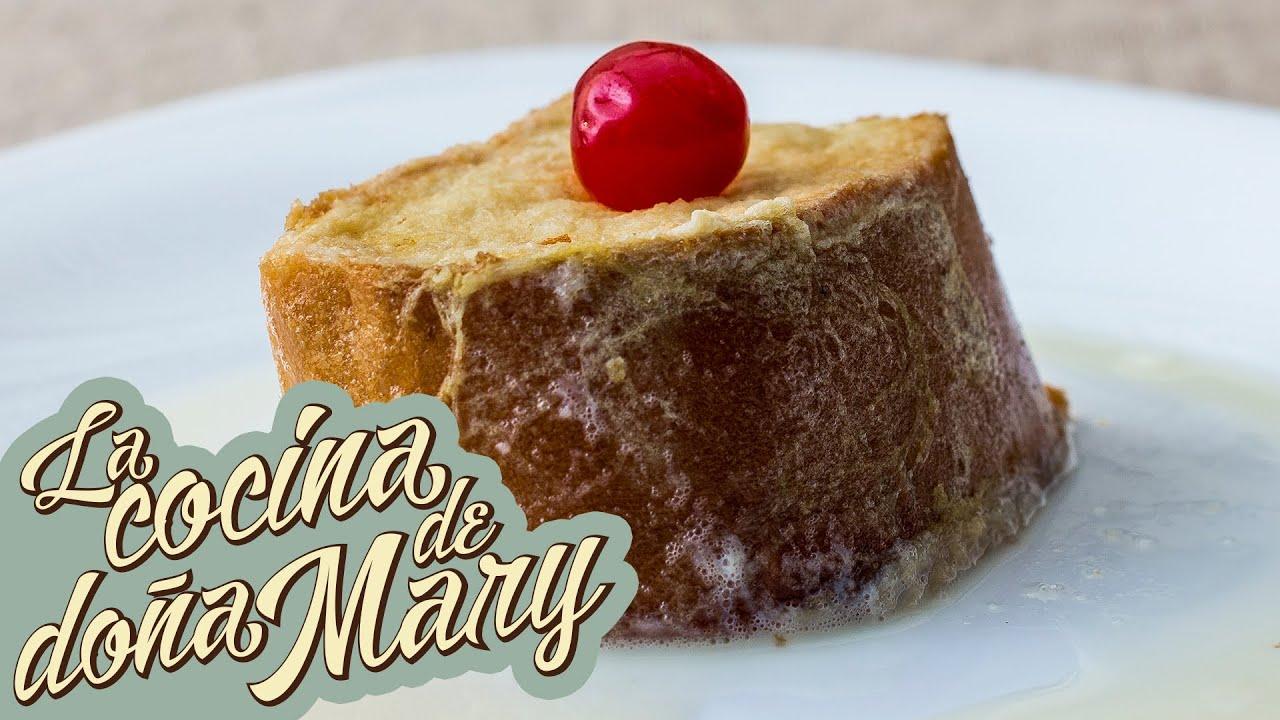 Bolillo de Yema y Torrejas en Miel o Leche | Cocina de Honduras