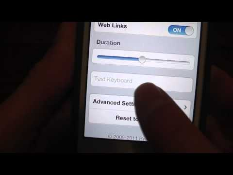 HowTo: Make IPhone Vibrate When Typing On Keyboard