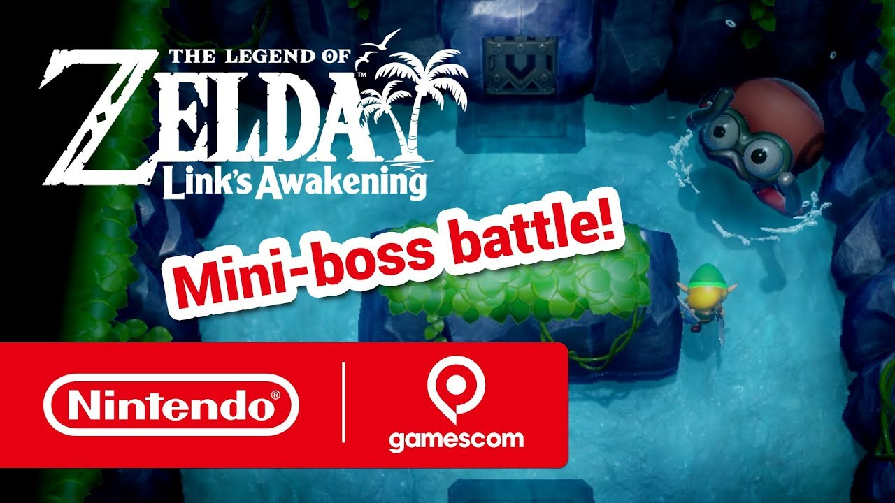 Nintendo Presents: The Legend of Zelda: Link's Awakening (gamescom 2019) thumbnail