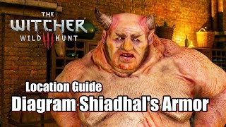 the witcher 3 wild hunt diagram shiadhal s armor location guide l kill allgod