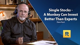 Single Stocks - A Monkey Can Invest Better Than Experts