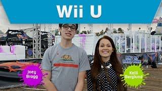 Wii U - Splatoon Mess Fest with Disney stars Joey Bragg and Kelli Berglund