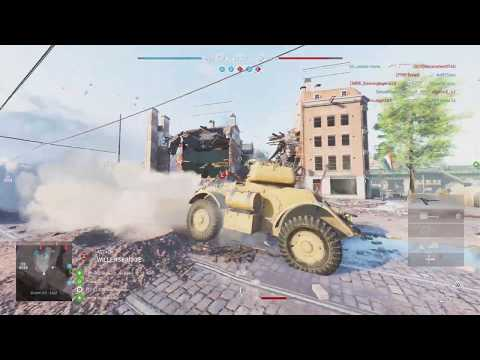 Battlefield 5: HOW TO TANK IN BFV (Armoured Car Staghound) not sitting back being useless