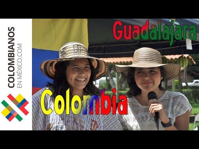 Fiesta de la Independencia Colombiana en México 2012 - Gastronomía