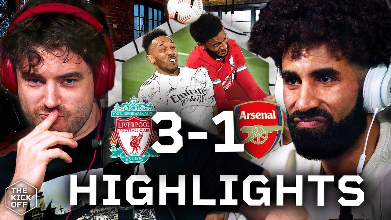 Liverpool 3-1 Arsenal - GOAL REACTIONS