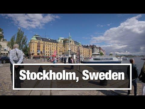 City Walks: Stockholm, Sweden - Royal Palace to Djurgarden