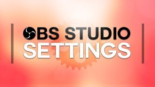 OBS Studio Settings For Slow Computers (720p High Performance)