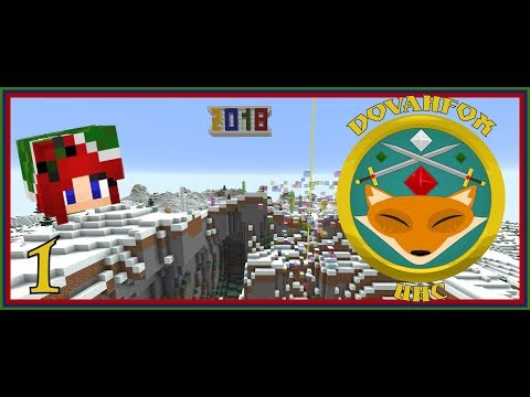 Dovahfox New Year UHC | Sassy POV # 1 | Going Solo! | Minecraft 1.12.2