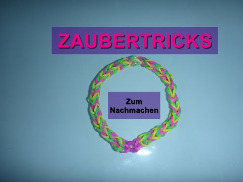 loom bands armband zaubertricks einfach zum nachmachen anleitung youtube. Black Bedroom Furniture Sets. Home Design Ideas