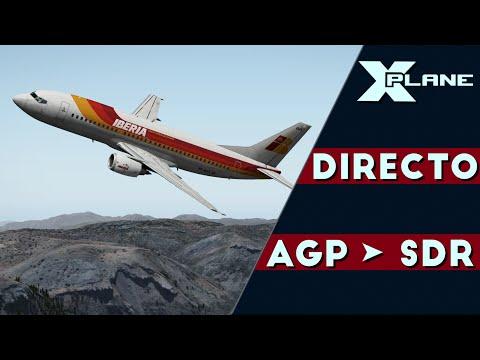 [XPlane 10.50] IXEG 737 | Málaga - Santander | [DIRECTO][IVAO]