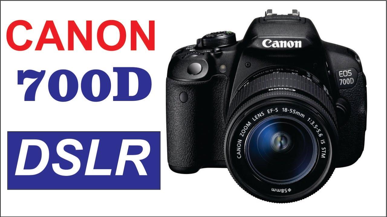 Canon 700D DSLR Camera Review (Hindi / Urdu) - YouTube