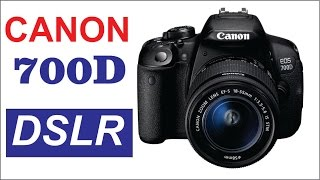 Canon 700D DSLR Camera Review (Hindi / Urdu)