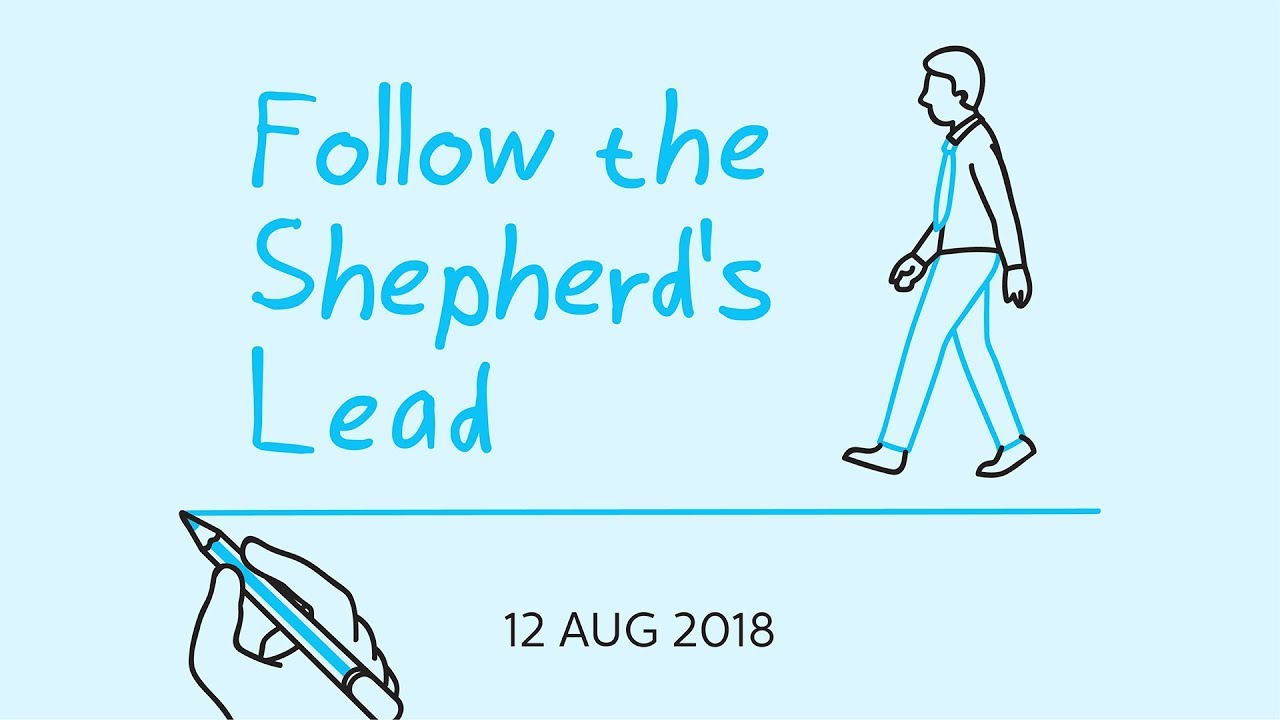 God's Prescription for Joy--Follow the Shepherd's Lead - YouTube