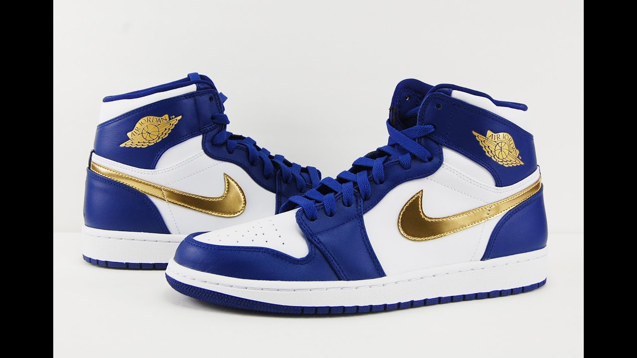 4de66b2bdab Air Jordan 1 Retro High Gold Medal USA Olympics Review + On Feet ...
