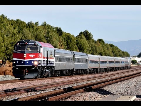Pearl Harbor Day Troop Train, Two BNSF Engines on the Chief, and Much More at Buena Park