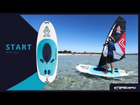START - The Most Stable Beginner Windsurfing Board