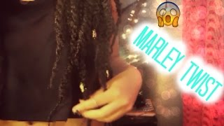Marley Twist: First Time, Tutorial & Hairfinity