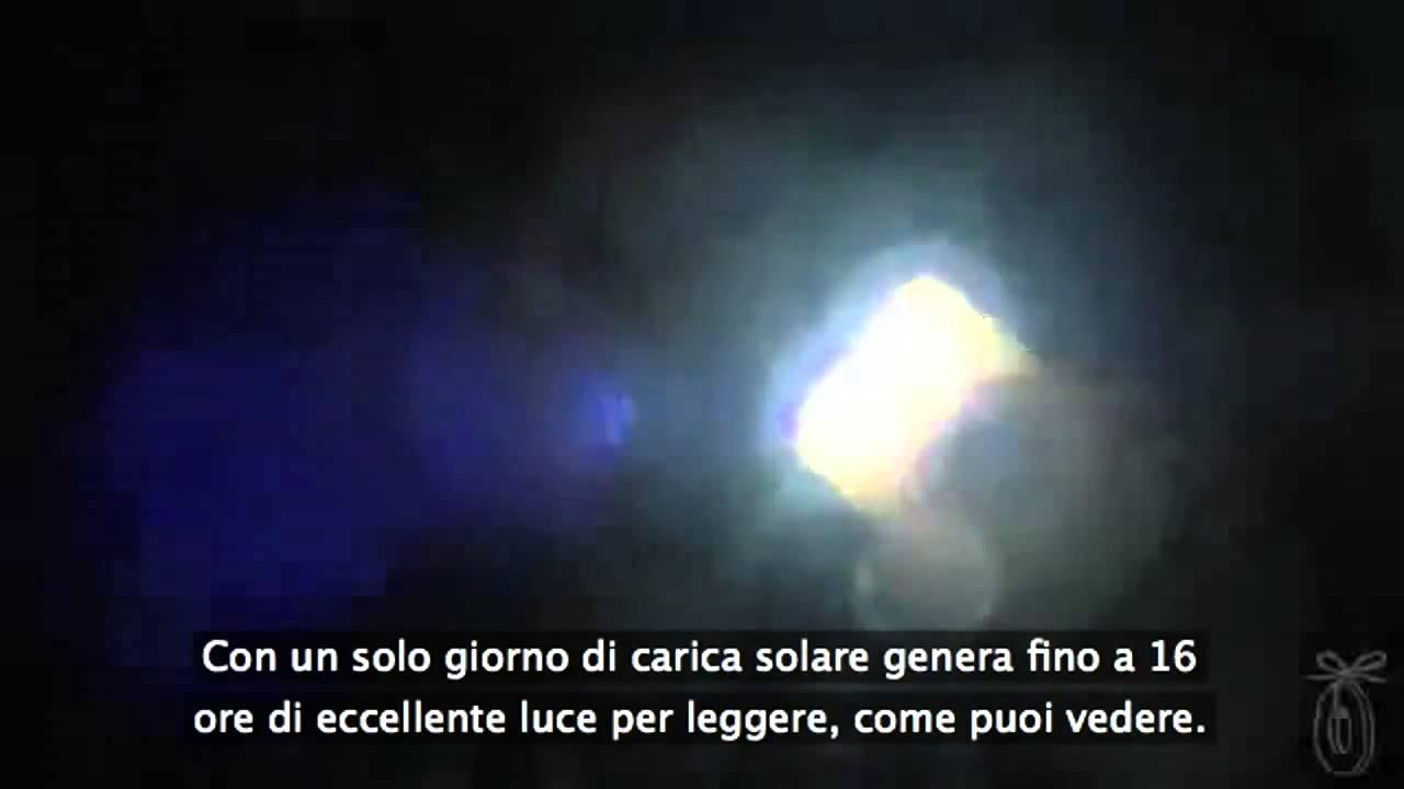 Faretti Esterno Energia Solare: Lampade solari, lampioni ...