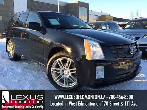 Used Black 2008 Cadillac SRX V6 Review | Sherwood Park Alberta