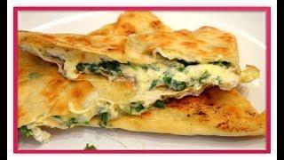 ЁКА -Гениальный  сырный омлет в  лаваше
