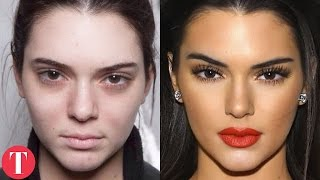 10 Shocking Photos Of Supermodels Without Makeup pt.2