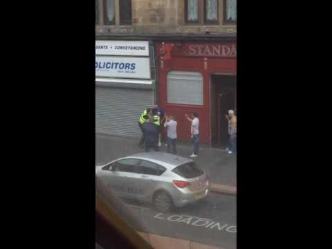 Glasgow PosillPark Saracen Police vs. Man
