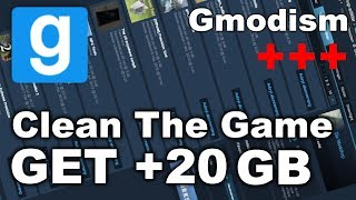 Clean Your Garry's Mod Folder! - How to Remove Unused Addons & Server Downloads (Get +20GB)