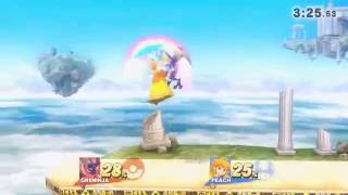 Greninja ( KaytchJam ) vs Peach ( Manny )  (Test 2)