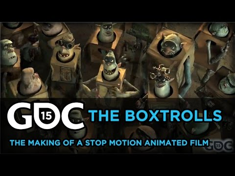 """The Making of the Stop Motion Film """"The Boxtrolls"""""""