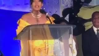 Rihanna Giving A Speech #RihannaDrive PT.1