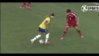 Женский сумасшедший футбол ● Умения Трюки и цели | HD |