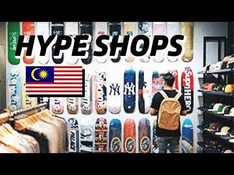 HYPE SHOPS DI KUALA LUMPUR! Bahasa Indonesia