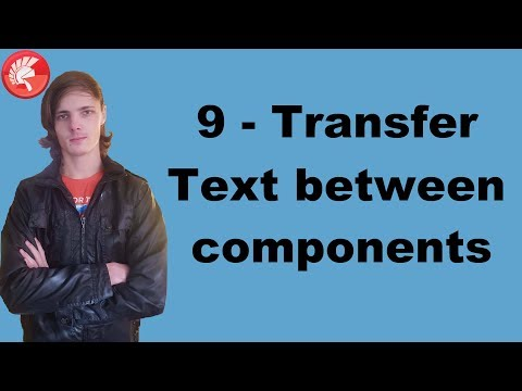 Delphi Programming Course (FMX): 9 - Transfer Text between components